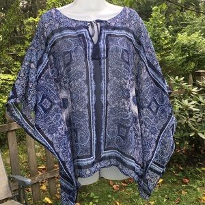 DB | poncho style top